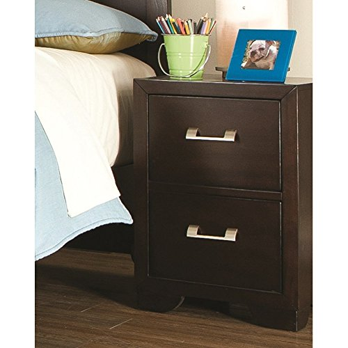 """UPC 891366045923, American Woodcrafters Smart Solutions Nightstand, 17"""" x 16"""" x 24"""", Chocolate"""