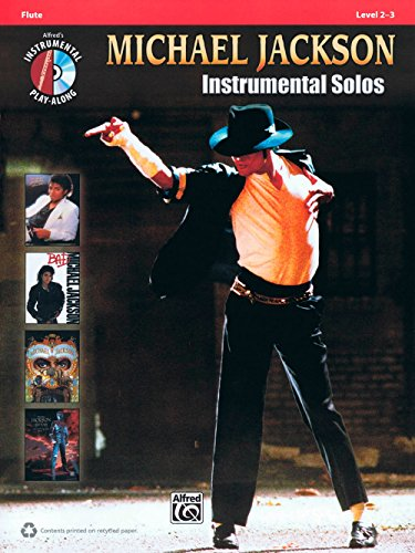 Hal Leonard Michael Jackson - Instrumental Solos Play-Along for Flute Book/CD ()