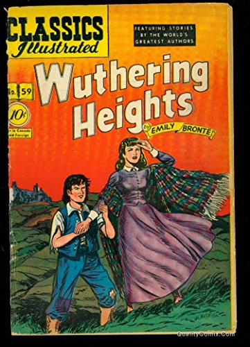 Classics Illustrated #59 FA/GD 1.5