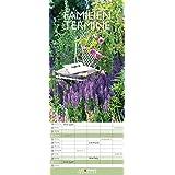 Gärten 2017 - A&I Gartenkalender, Familienplaner Garten, Natur, Spaltenkalender - 19,5 x 42 cm