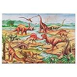 Melissa & Doug Dinosaurs Jumbo Jigsaw Floor Puzzle (48 pcs, 0.6 x 0.9 meters)