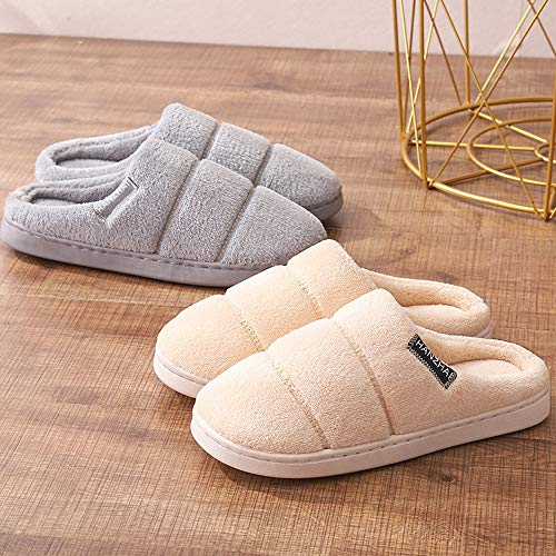 Pantofole Balabala Casa Calde Da 4 Cotone Donna Donne Coppie Beige Per Comode Peluche Inverno Mini Scarpe 1BdqwUIB