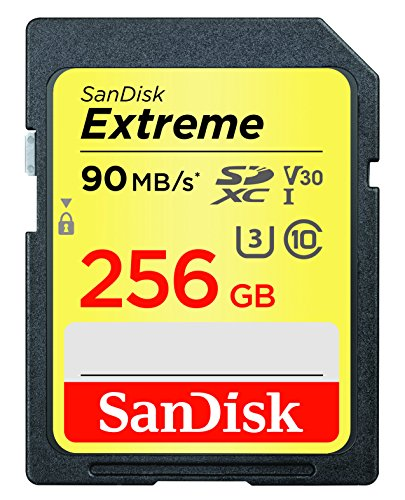 SanDisk Extreme 256GB SDXC UHS-I Card - SDSDXVF-256G-GNCIN [Newest Version] by SanDisk