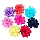 PET SHOW Dog Charms Flower Collar Accessories Cat Puppy Collars Dogs Bowtie Grooming Pack of 8