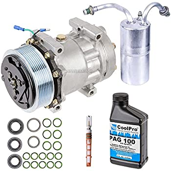 AC Compressor w/A/C Repair Kit For Dodge Ram 2500 3500 1994-2001 - BuyAutoParts 60-80119RK New