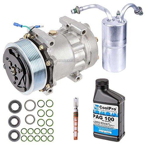 AC Compressor w/A/C Repair Kit For Dodge Ram 2500 3500 1994-2001 - BuyAutoParts 60-80119RK New -