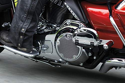 - Kuryakyn 6526 Mesh Derby Cover for '15-'17 Touring / Trike, Chrome