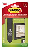 #8: Command Picture Hanging Strips, Large, Black, 14-Pairs