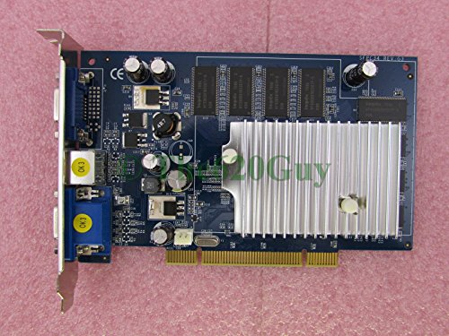 NVIDIA Genuine GeForce FX5200 Computer Graphics Video Card Tower 256MB DDR 128Bit PCI Dual VGA/TV 73823991 VCGFX522PPB