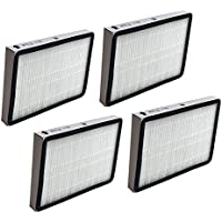 4 Replacements for Kenmore EF1 HEPA Style Filter Fits Whispertone & Progressive, Compatible With Part # 86889, 20-86889 & 40324, by Think Crucial