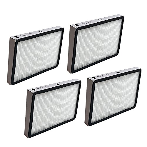 - 4 Replacements for Kenmore EF1 HEPA Style Filter Fits Whispertone & Progressive, Compatible With Part # 86889, 20-86889 & 40324, by Think Crucial