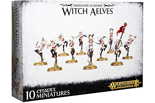 Games Workshop Daughters of Khaine Witch Aelves Warhammer Age of Sigmar