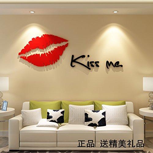 LiTie Gemütliche und romantische Schlafzimmer Acryl massive Wand ...