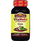 Nature Made Vitamelts Sleep Tablets, Chocolate Mint, 100 Count(pack of 3) by Nature Made