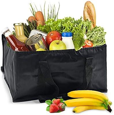 Amazon.com: Paquete de 2 bolsas aislantes reutilizables para ...