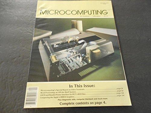 Kilobaud Microcomputing Sep 1979, Video Terminals, Word Processing