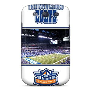 Awesome EWUJAig6568 JRhoder Defender Tpu Hard Case Cover For Galaxy S3- Indianapolis Colts