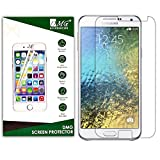 Dmg 2.5D Bubble-Free Tempered Screen Protector For Samsung Galaxy E7 (No Fingerprints Anti-Scratch Oil Coated Washable)