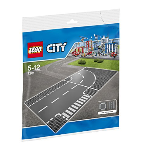 LEGO City Road T Junction Curve