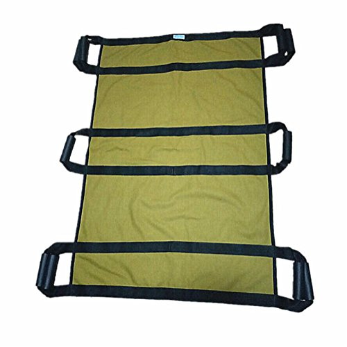 LUCKYYAN Healthcare H-16128 Lengthened Multi-Mover Plus Transfer / Slide Sheet - 3 People can lift, Khaki by luckyyan