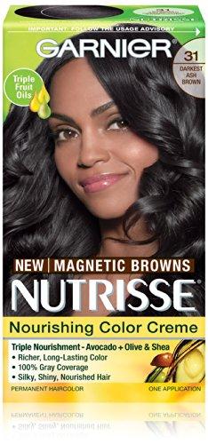 Garnier Nutrisse Nourrissant Cheveux couleur crème, 31 Darkest Cendré