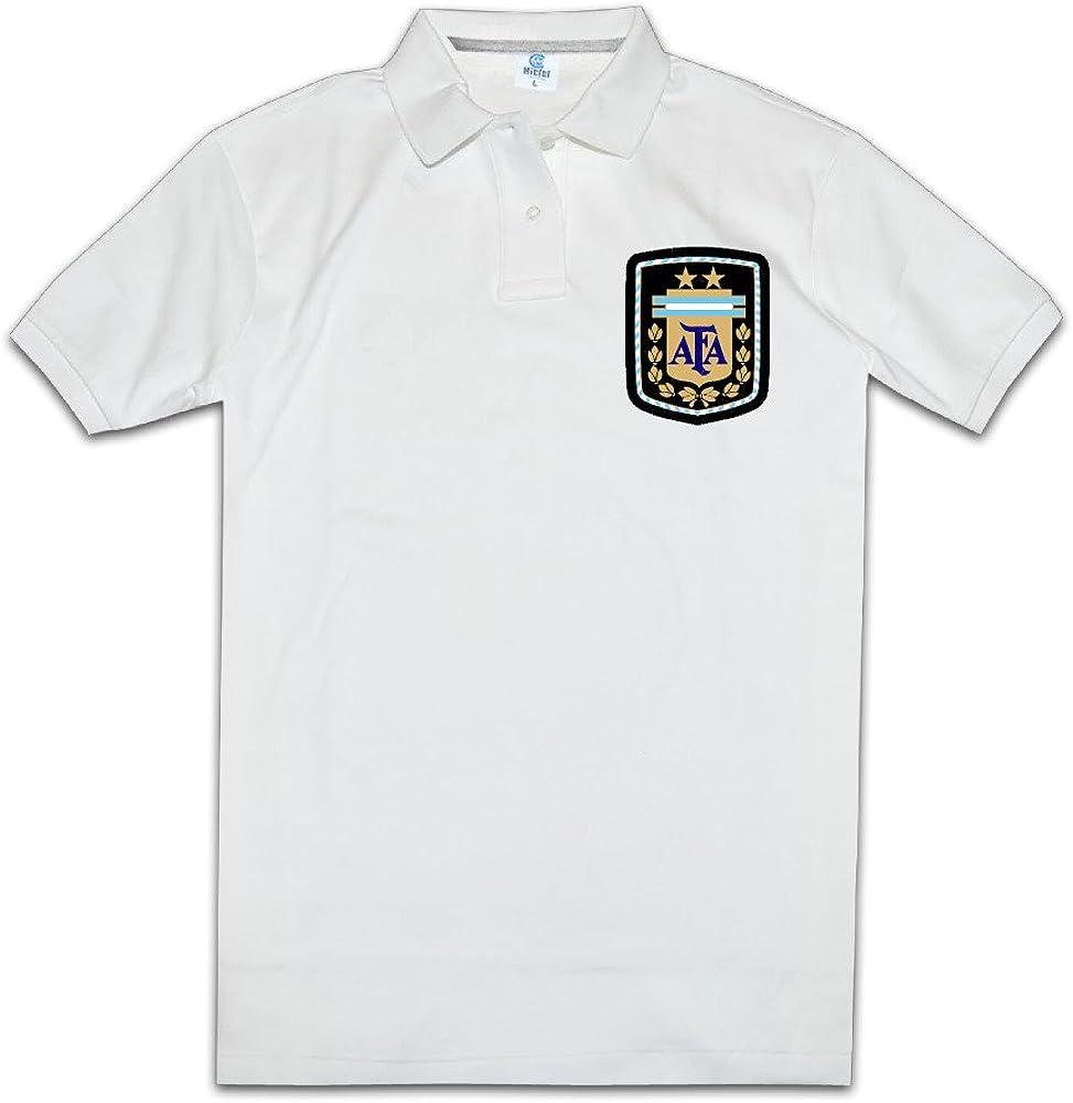 para Hombre Love o Cuello 2016Copa América la Selecciã³ n De Ftbol De Argentina Polo T Shirt