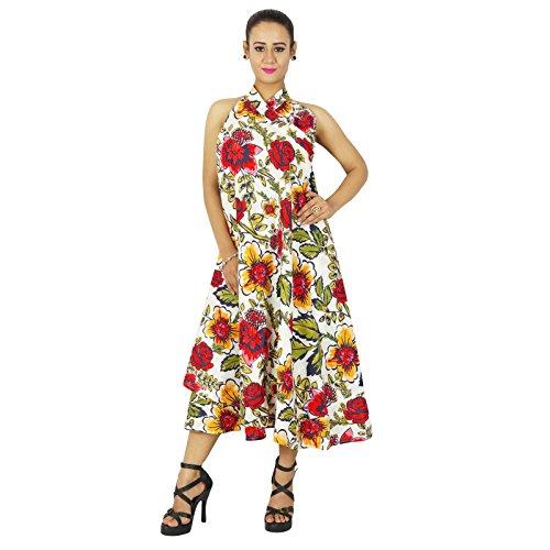 Wrap Coton magique Dress taille Sarong Reversible Jupe Phagun plus Multicolore gqI7yZ1n
