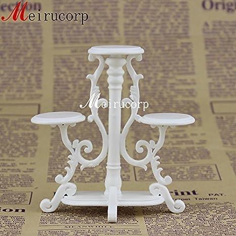 Fine 1:12 Scale Dollhouse Miniature Furniture Beautiful Handmade Flower Stand