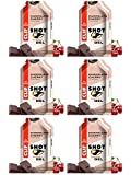 Clif Shot Energy Gel with Caffeine, Chocolate Cherry (Pack of 6)
