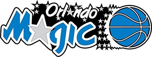 - skyhighprint - Orlando Magic NBA Basketball Sport Set of 2 Decor Vinyl Print Sticker 14'' X 5''