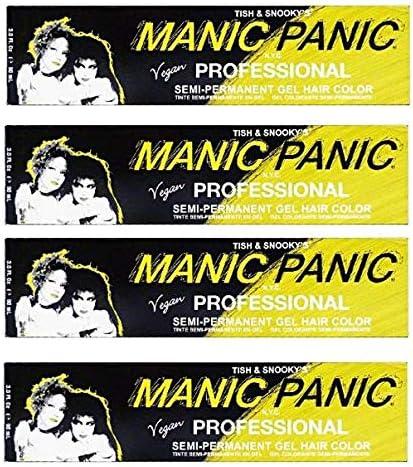 Manic Panic - Tinte para el cabello (90 ml, 4 unidades ...