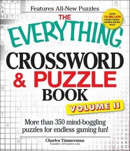 Download The Everything Crossword and Puzzle Book Volume II: More than 350 mind-boggling puzzles for endless gaming fun! pdf epub