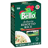Riso Bello - Arborio Risotto Rice, Gluten Free - 17.5 oz (Pack of 12)