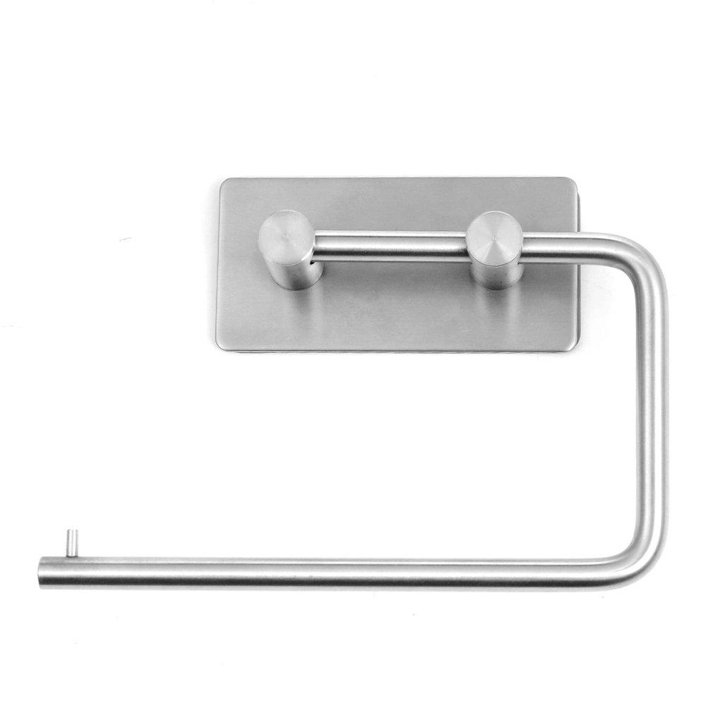 Toilettenpapierhalter Ohne Bohren Edelstahl Küchenrollenhalter ...