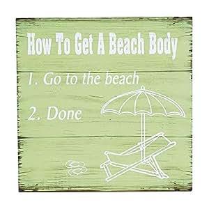 Cómo conseguir un playa cuerpo Sign
