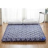 Tatami mattress double bed mat folding mat-B 100x200cm(39x79inch)