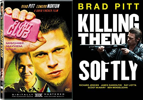 Brad Pitt 2-Movie Collection - Fight Club & Killing Them Softly Double Feature DVD Bundle