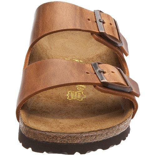 Antik con Unisex Birkenstock Zapatos Brown Adulto Marrón Arizona Hebilla 1P0PRq