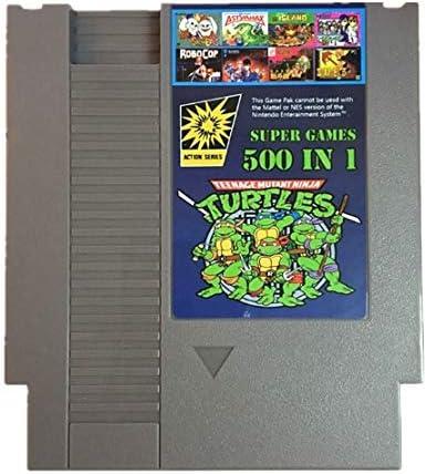 Amazon.com: 500 in 1 Nes Game Cartridge Video Game Multi 72 ...