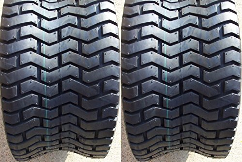 SET OF TWO (2) DEESTONE 24x12.00-12 24x1200-12 4 Ply Rated Tubeless Turf Tires (Deestone Tires)