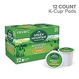 Green Mountain Coffee Roasters Breakfast Blend Single-Serve Keurig K-Cup Pods, Light Roast Coffee, 12 Count (pack of 6)