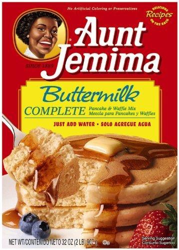 Amazon Com Aunt Jemima Complete Pancake Mix Buttermilk 32 Ounce