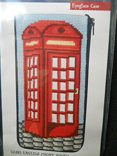 Stitch and Zip Eyeglass Case Kit SZ485 - English Phone Booth