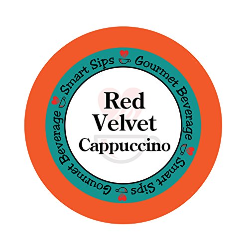 Smart Sips, Red Velvet Cappuccino, 24 Count, Compatible With All Keurig K-cup -