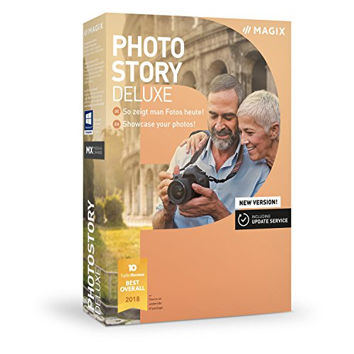 MAGIX Photostory Deluxe - Version 2019 - Create Slideshows the Easy Way