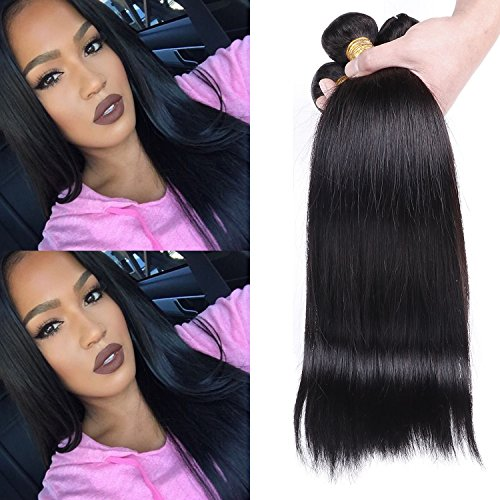 Unprocessed Brazilian Straight Hair Extensions product image