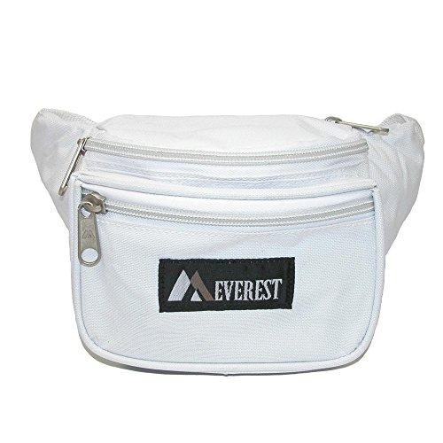 Everest Durable Fabric Waist Packs , White