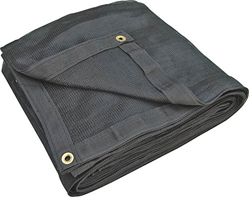 (MINTCRAFT 4083B  HD Mesh Tarp, 8x10-Feet, Black)