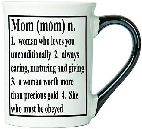 Mom Mug, Mom Coffee Cup, Ceramic Mom Mug, Mother's Day Gift By Tumbleweed
