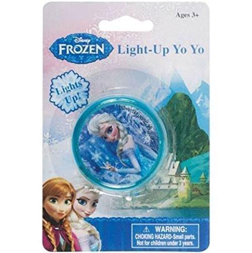 Disney Frozen Play Time Ice Queen Elsa Light Up Yo-Yo!